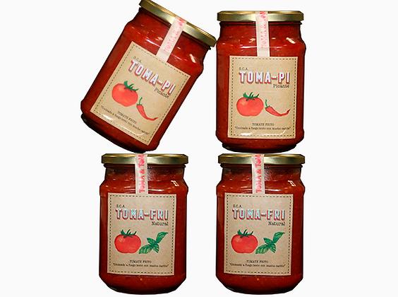 Natural Tomato Pack Grande 720gr