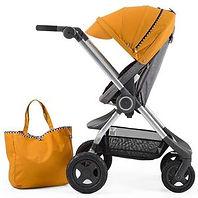 strollers, baby bags