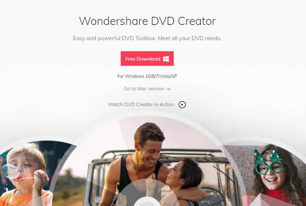 dvd, creator, apps, video