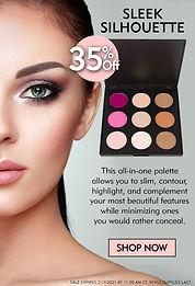 makeup, sleek, eye shadow, cejas, pestanas, maquiyaje