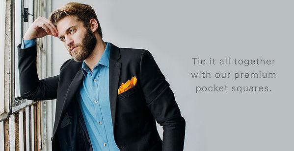 ties, pocket squares