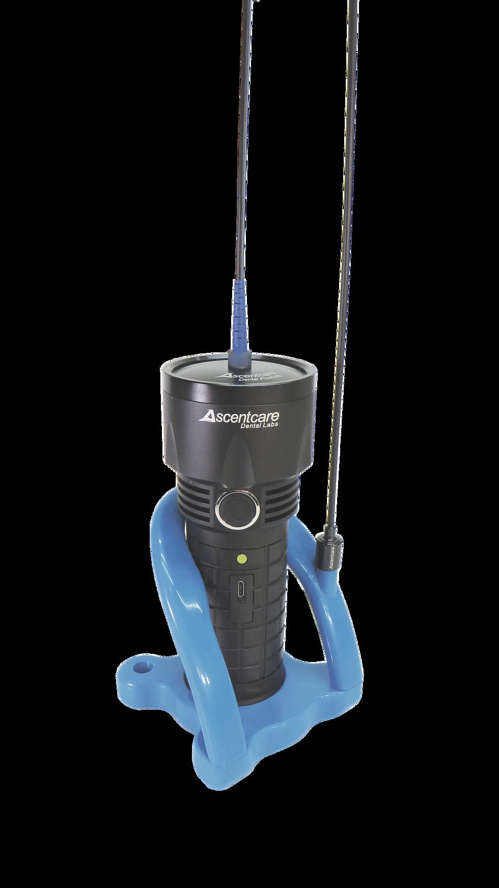 The HyperLUX Light Engine fiber optic dental instrument illuminator