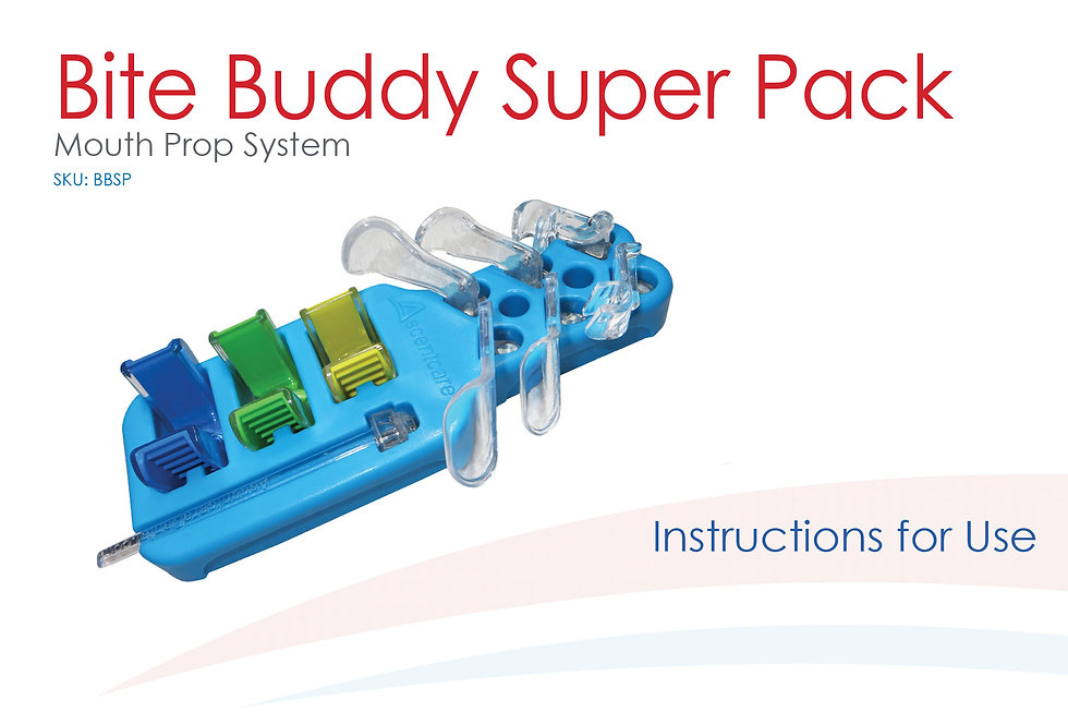 Bite Buddy Super Pack Instructions for Use