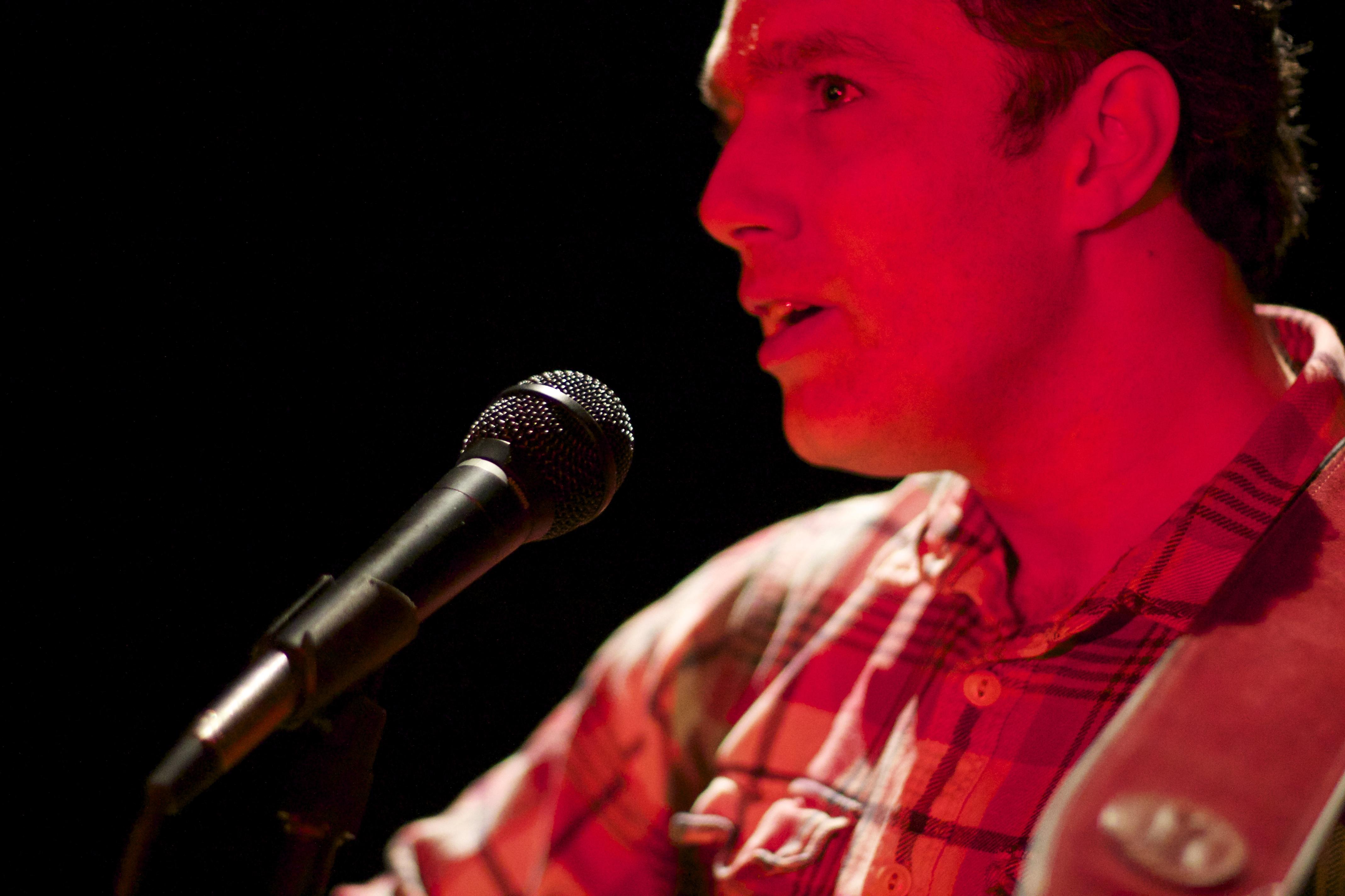 Alan singing