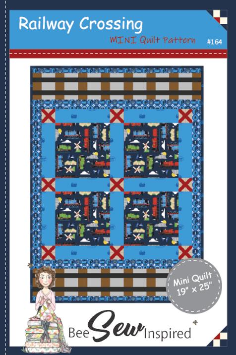 Railway Crossing Mini Quilt