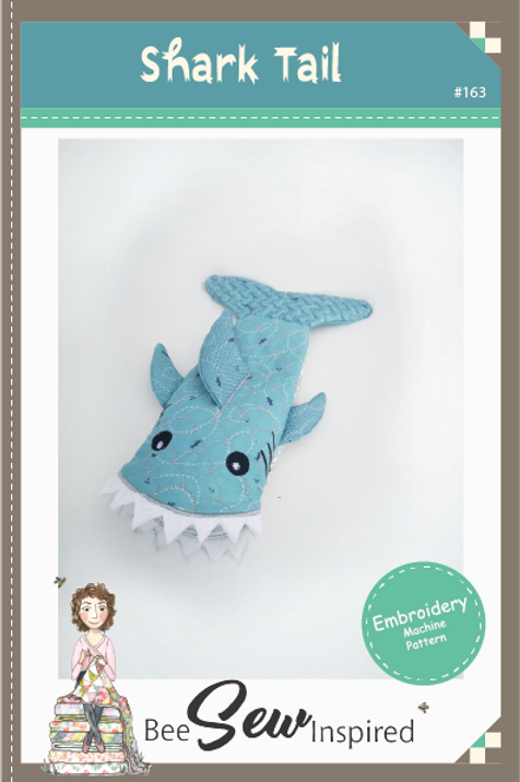 Shark Tail - Embroidery Machine Pattern