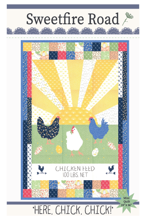 Here Chick, Chick Quilt Pattern