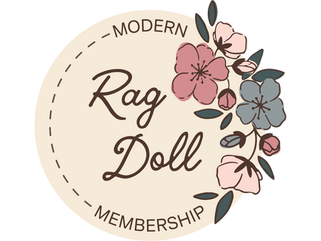 Modern Rag Doll Membership... coming 2021