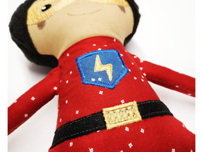 Superhero Doll Sew-A-Long