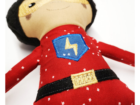 Superhero Doll Sew-A-Long