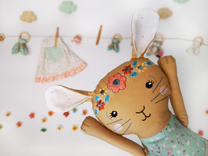 Bunny Dolls and Bunny Teethers