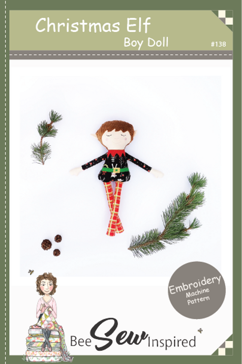 Christmas Elf Boy - Embroidery Machine Patern