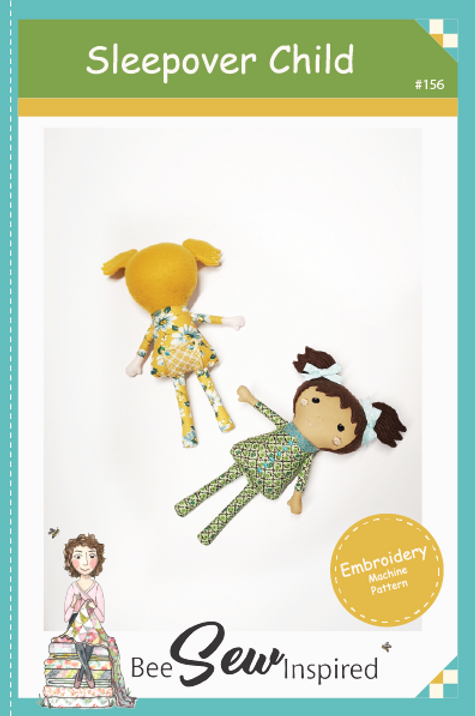 Sleepover Child Doll - Embroidery Machine Pattern