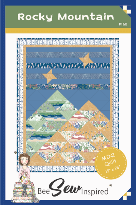 Mountain Sky Mini Quilt Pattern