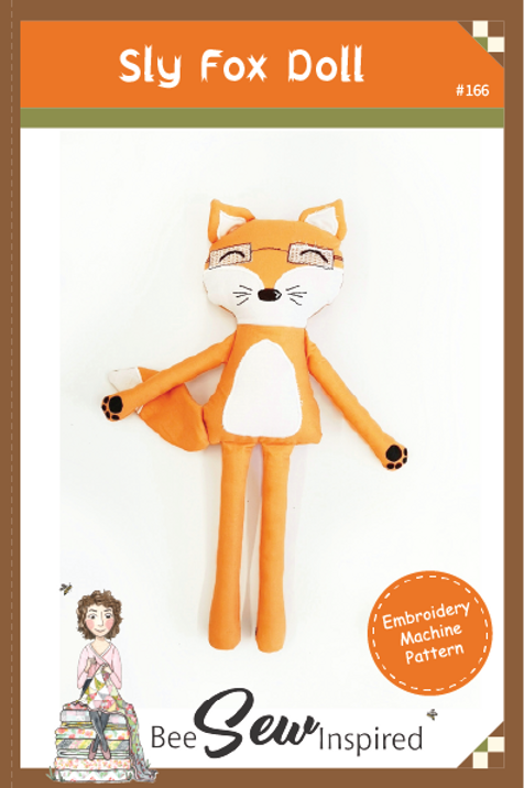 Sly Fox Doll - Embroidery Machine Pattern
