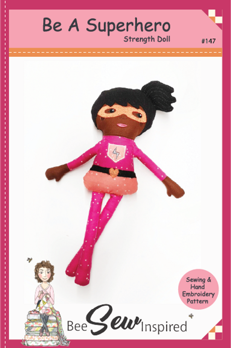 Be A Superhero - Strength Doll - Sewing Pattern