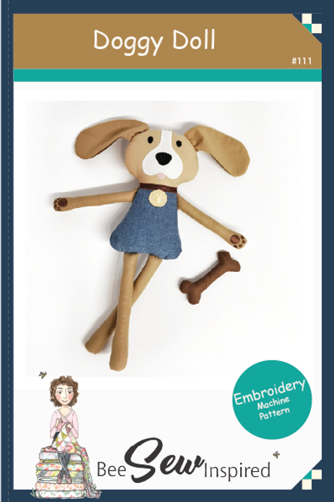 Doggy Doll - Machine Embroidery Pattern