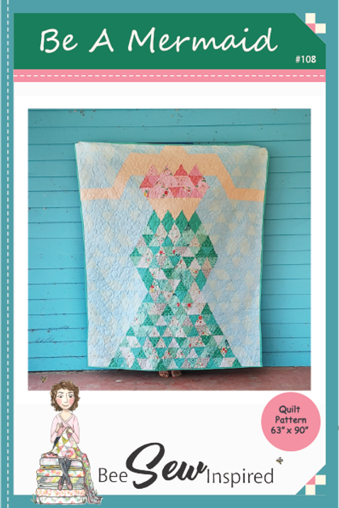 Be A Mermaid Quilt Pattern