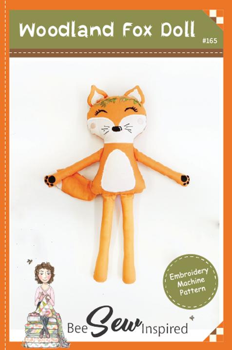 Woodland Fox Doll - Embroidery Machine Pattern