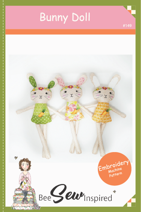 Bunny Doll - Embroidery Machine Pattern