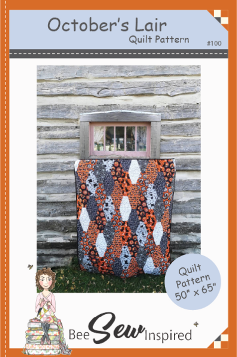 October's Lair Quilt Pattern