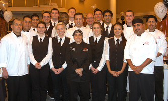 Crown Café Catering Delivers the goods for the Cocoanut Grove on New Year's Eve!