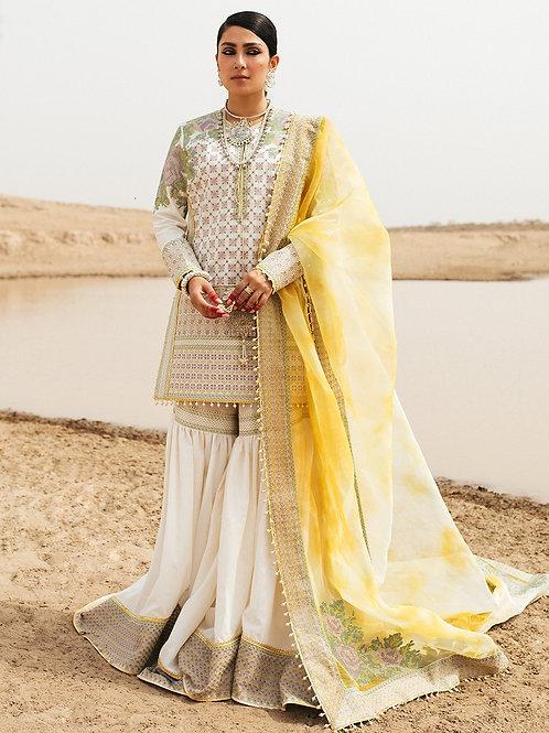Hussain Rehar Rohi De Naal Luxury Lawn '21