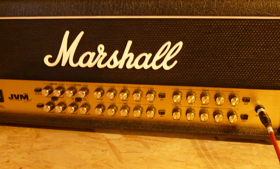 Marshall JVM 410 4-channel tube amp