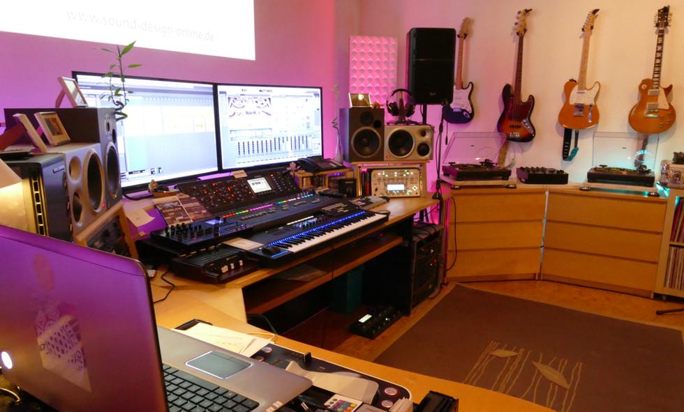 pleasant studio atmosphere