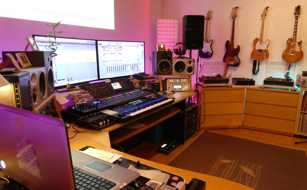 Angenehme Studio Athmosphäre