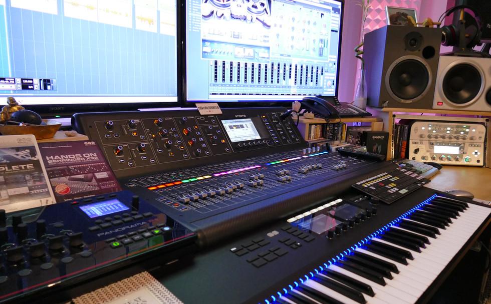 Studio-Regie für den perfekten Mix