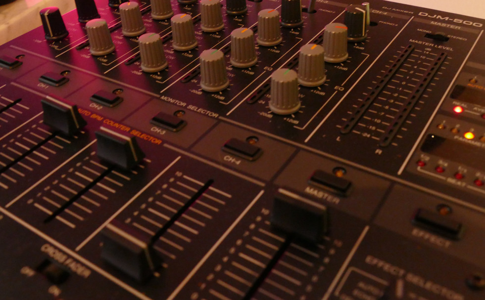 DJ Mixer für den perfekten Mix