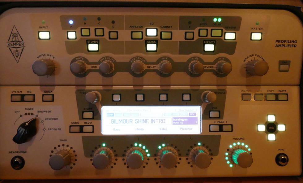 Kemper Profiler with remote