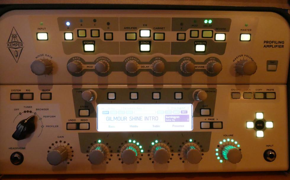 Kemper Profiler mit Remote