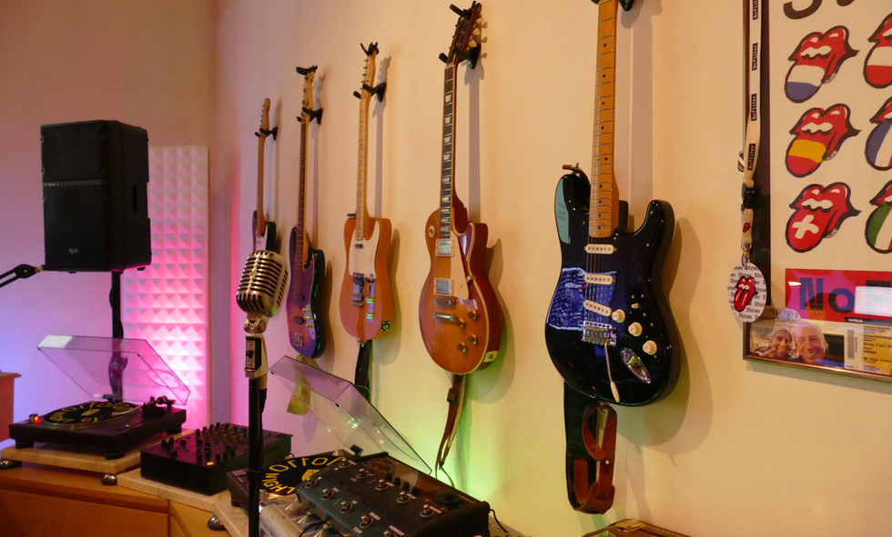 Guitar selection for the perfect sound