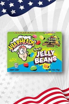 Warheads Sour Jelly Beans Theatre Box 113g