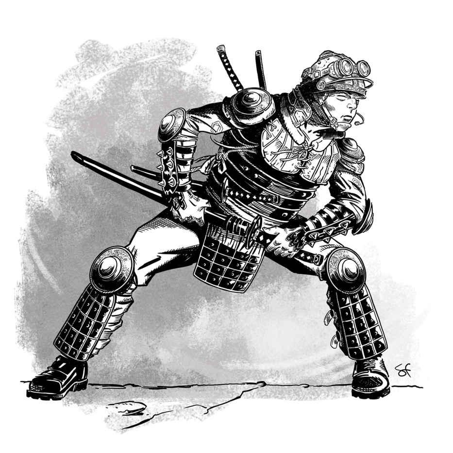 steampunk samurai showdown