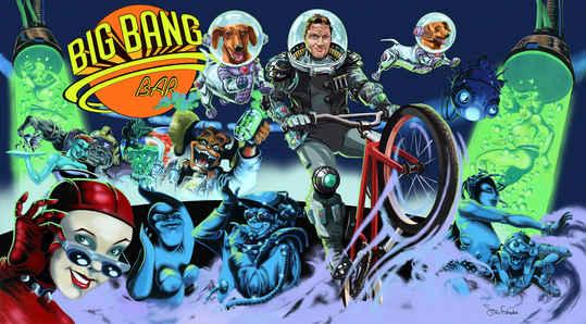 Flyin High at the Big Bang Bar