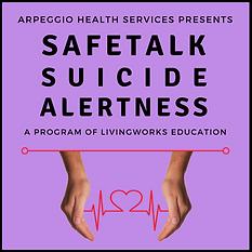 safeTALK Suicide Alertness Training