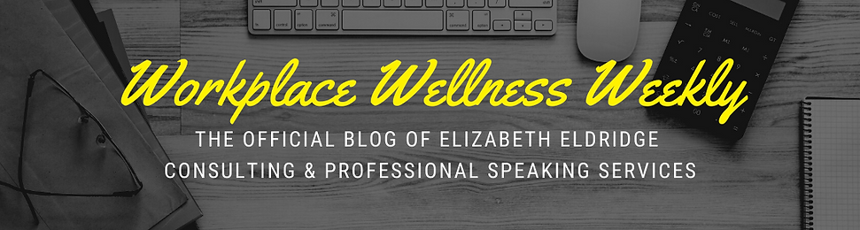 Workplace Wellness Weekly blog banner sk