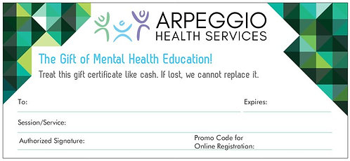 Gift Certificate: The Mentally Healthy Workplace