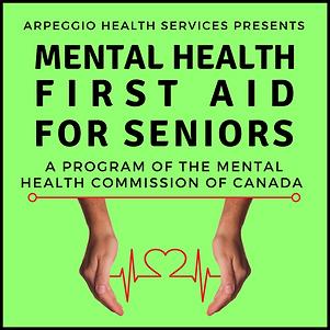 Mental Health First Aid for Seniors