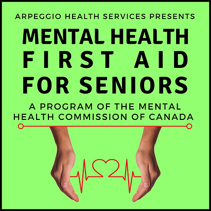 Mental Health First Aid for Seniors