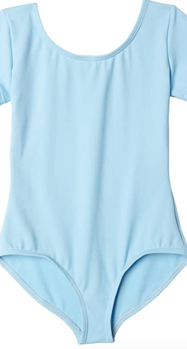 Blue leotard for ages 5-9