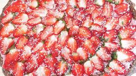 RECEPT: raw aardbeientaart