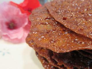 Krokante koekjes - kletskoppen