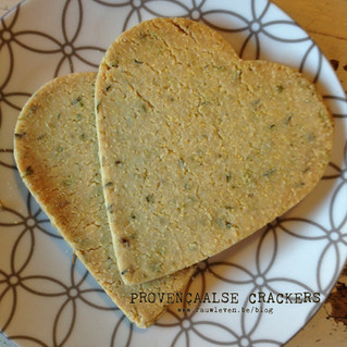 RECEPT: provençaalse crackers