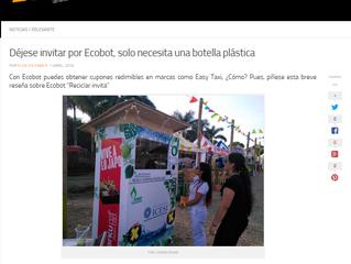 Déjese invitar por Ecobot, solo necesita una botella plástica