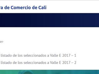 Ecobot dentro de las 30 empresas seleccionadas por Valle E 2017-1