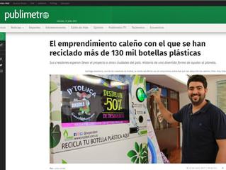El emprendimiento caleño con el que se han reciclado más de 130 mil botellas plásticas